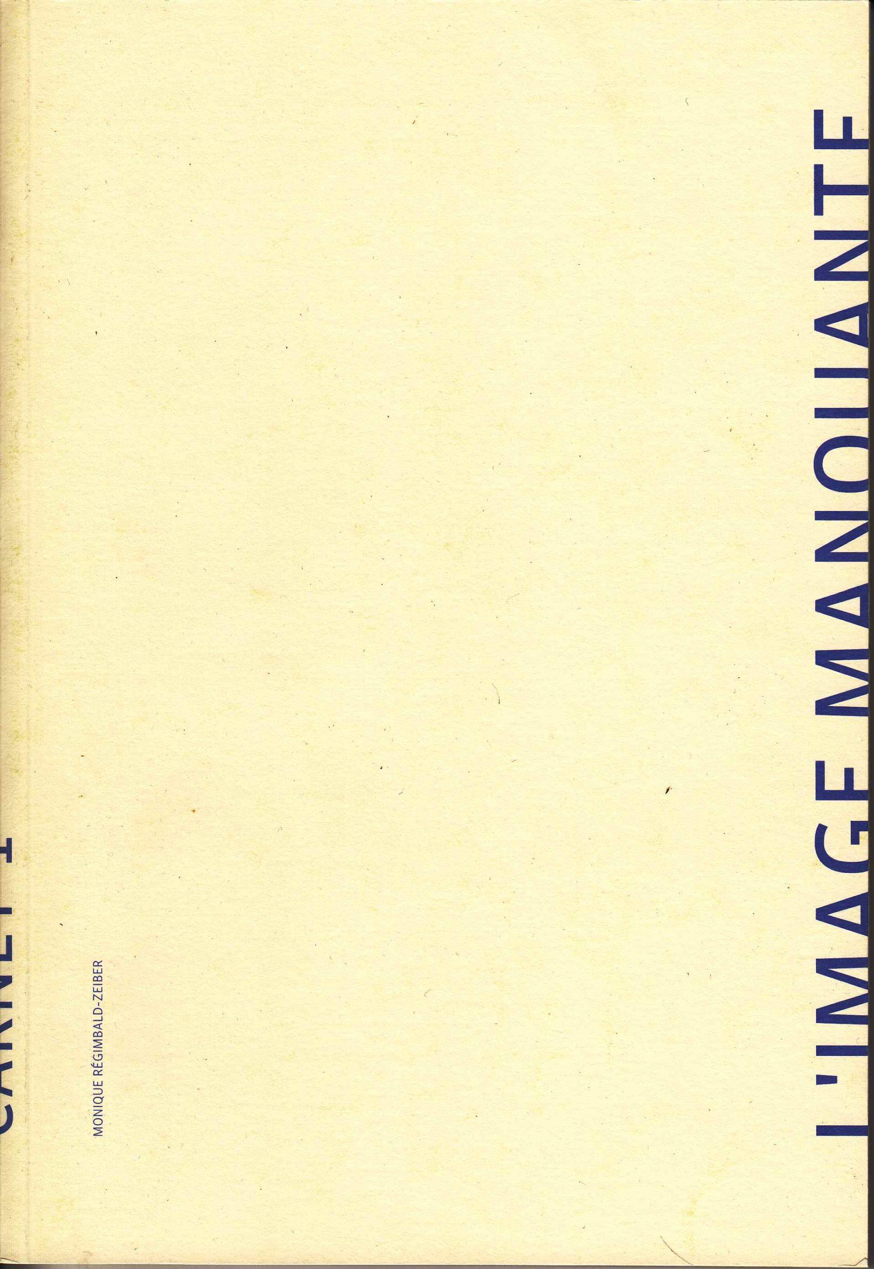 L'Image manquante, 2002-2005