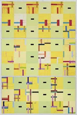 Suite Feldman Peinture [Palais de Mari], 2008 – 2010