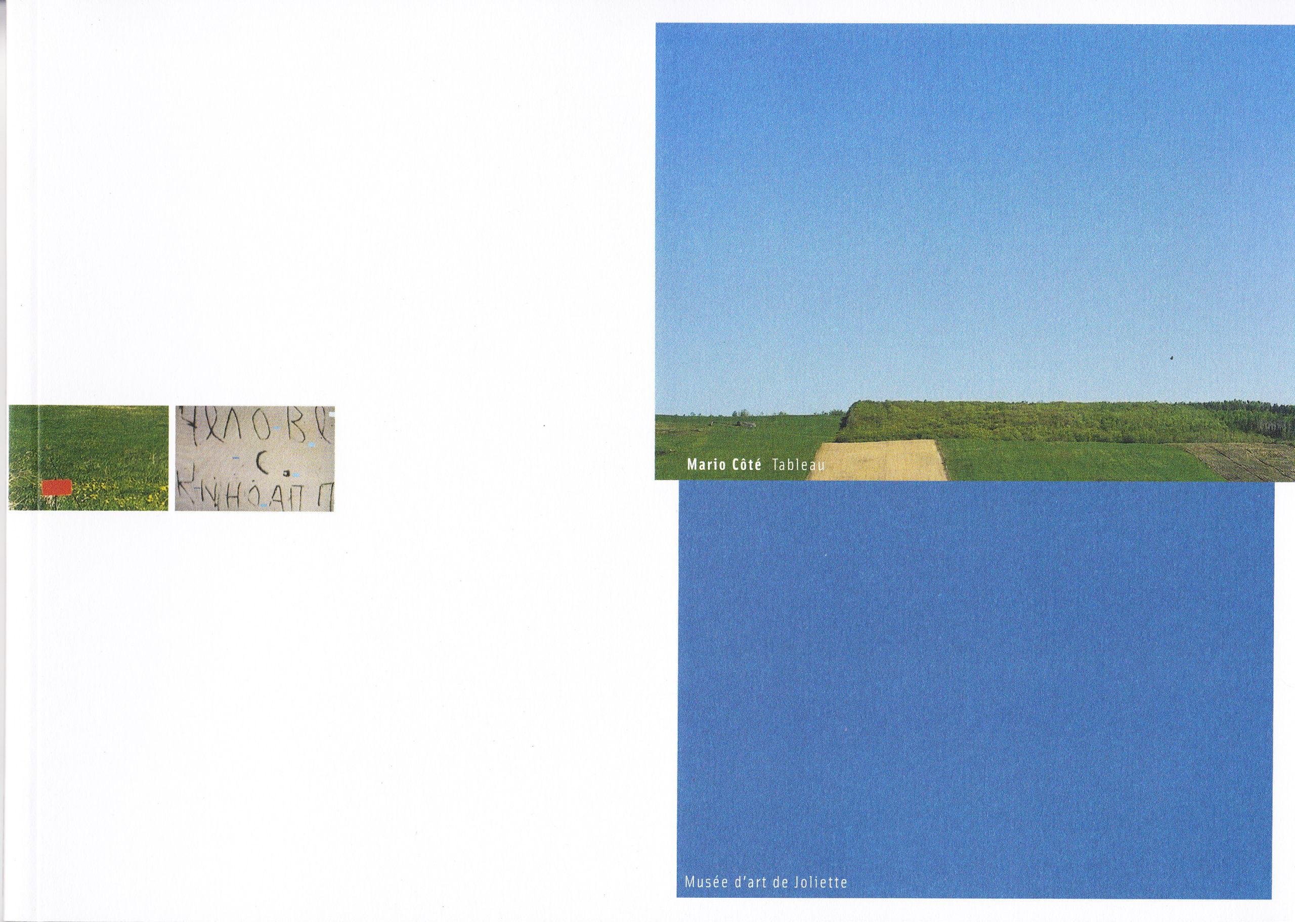 Tableau, Nicole Gingras, 2002