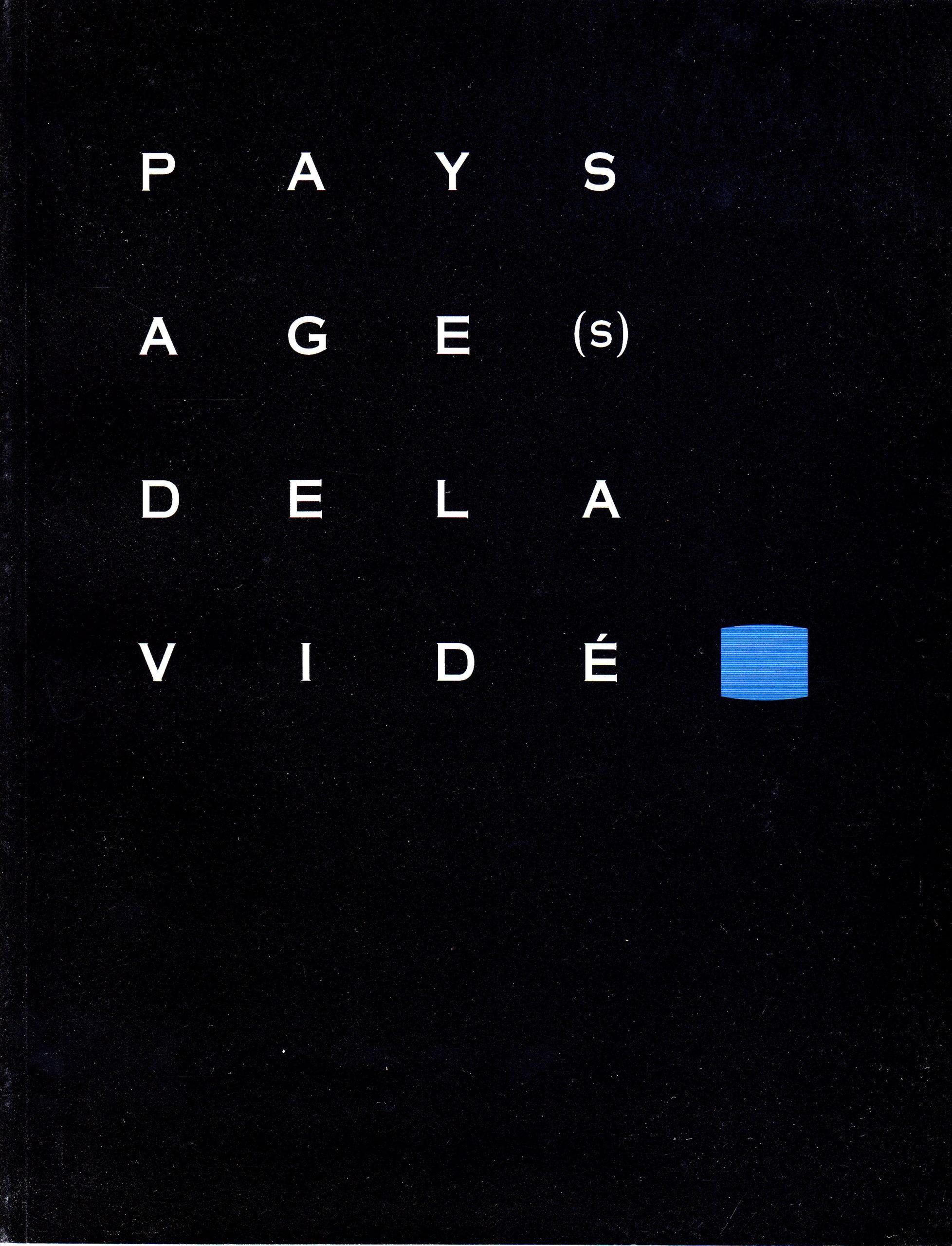 Correspondance, Mario Côté, Michel Gonneville, dans Paysage(s) de la vidéo (dir. Monique Langlois), 1994