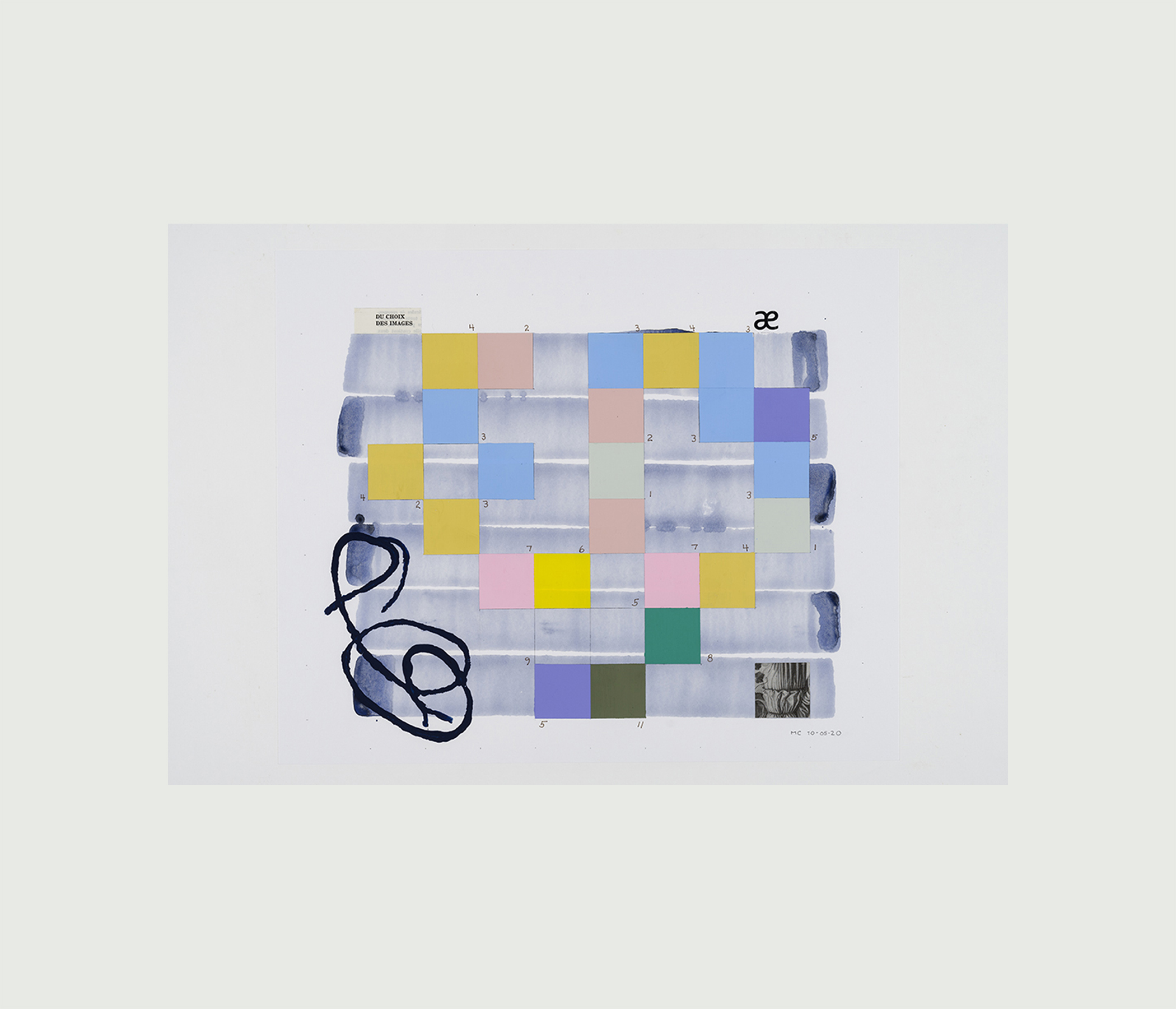 Oeuvres papier [Suite Atlantis]