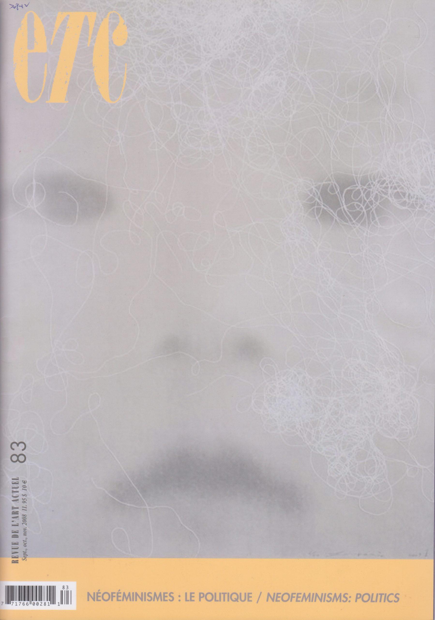 Les transferts esthétiques, Jean Fisette, ETC Montréal, no 83, 2008