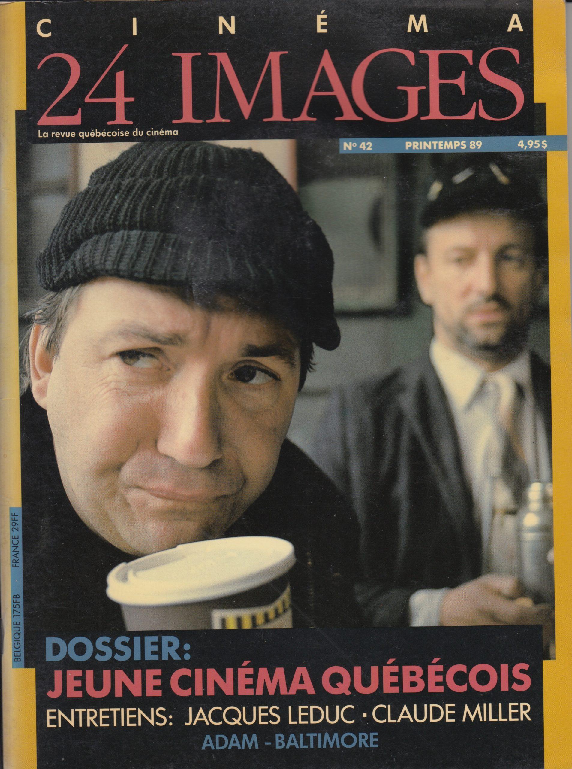 Chronique vidéo, Revue Cinéma 24 images, 1989-1992