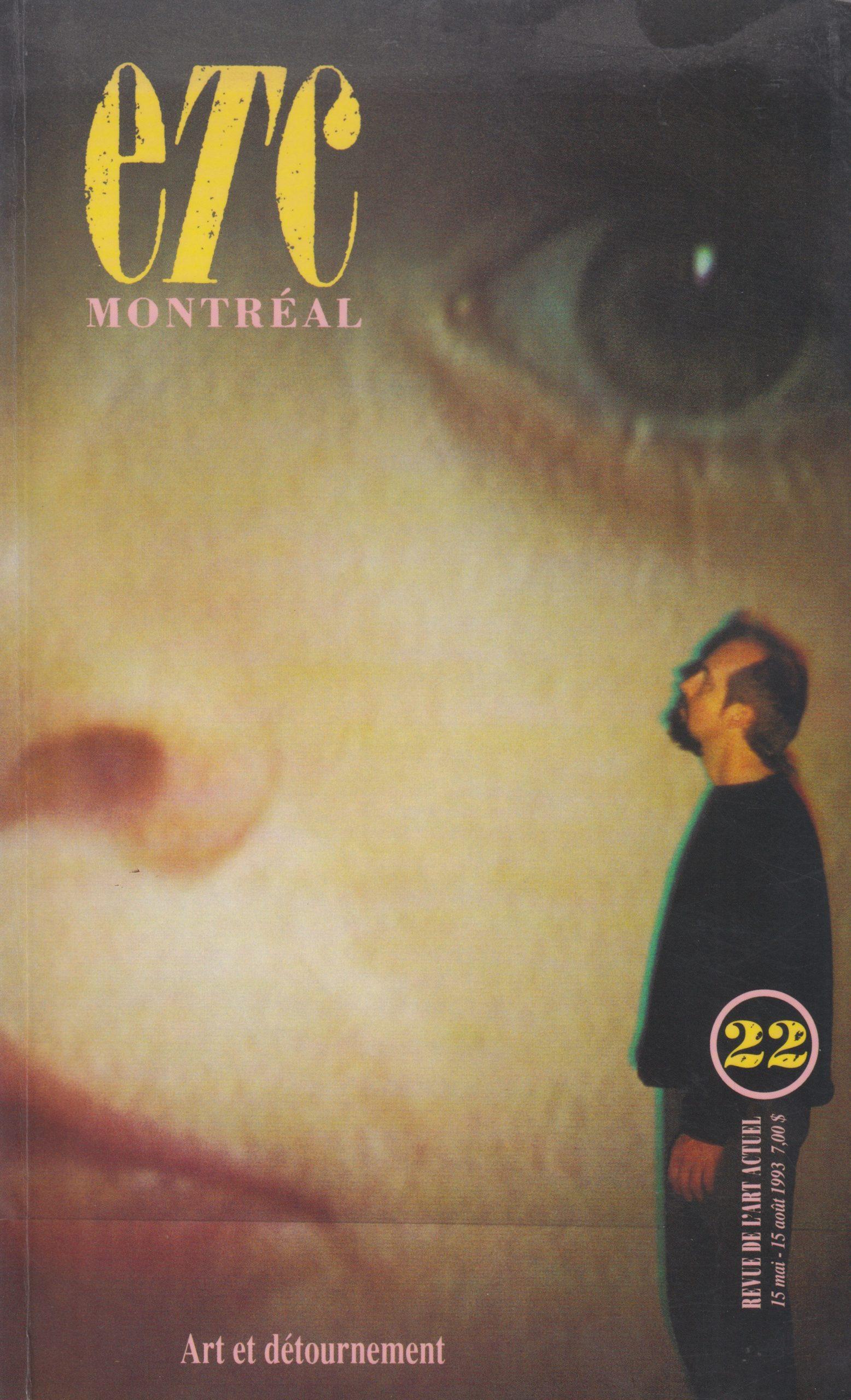Voir autrement, Yvan Moreau, ETC Montréal, no 22, 1993