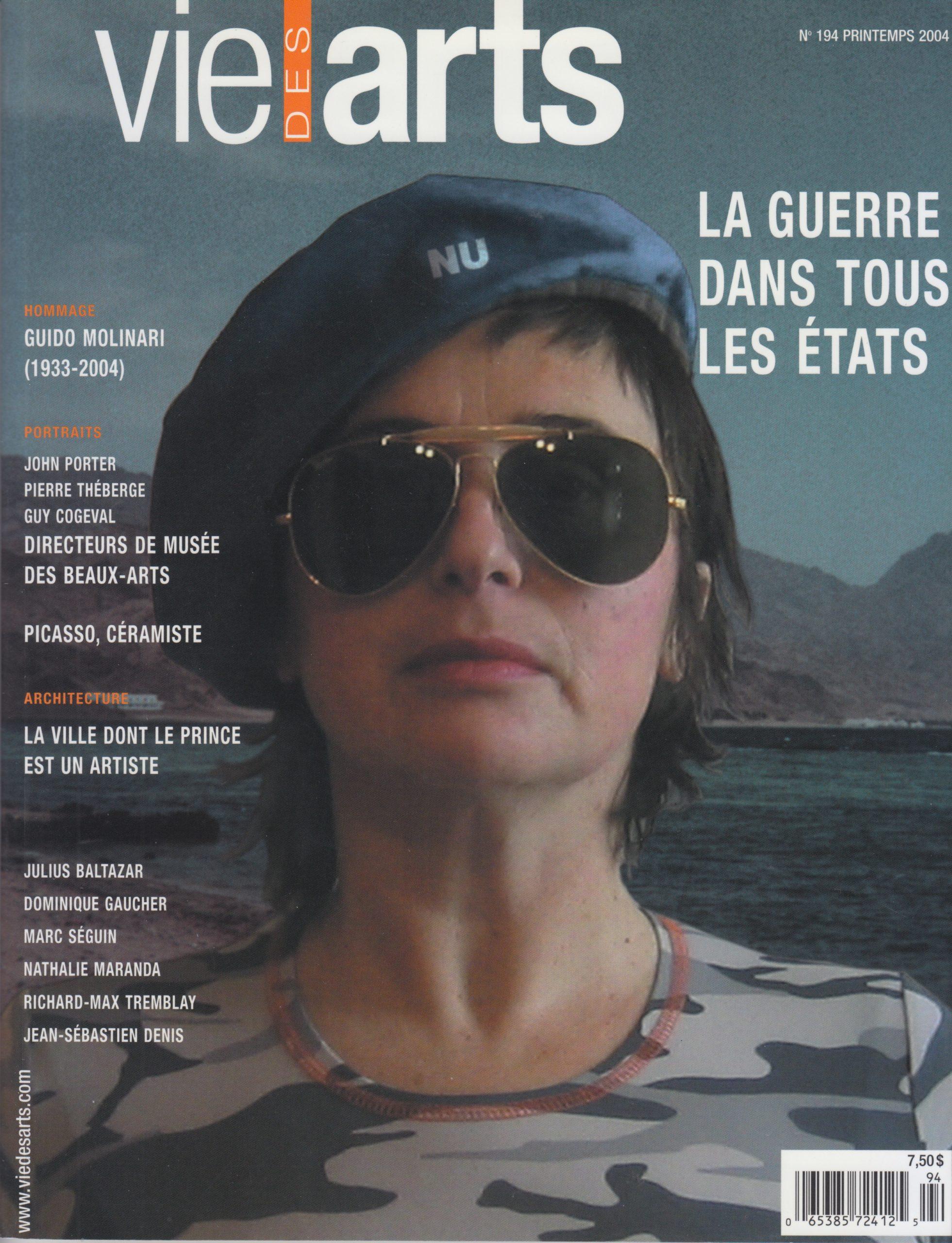 Paysages(s), Julie Lussier, Vie des arts, no 194, 2004