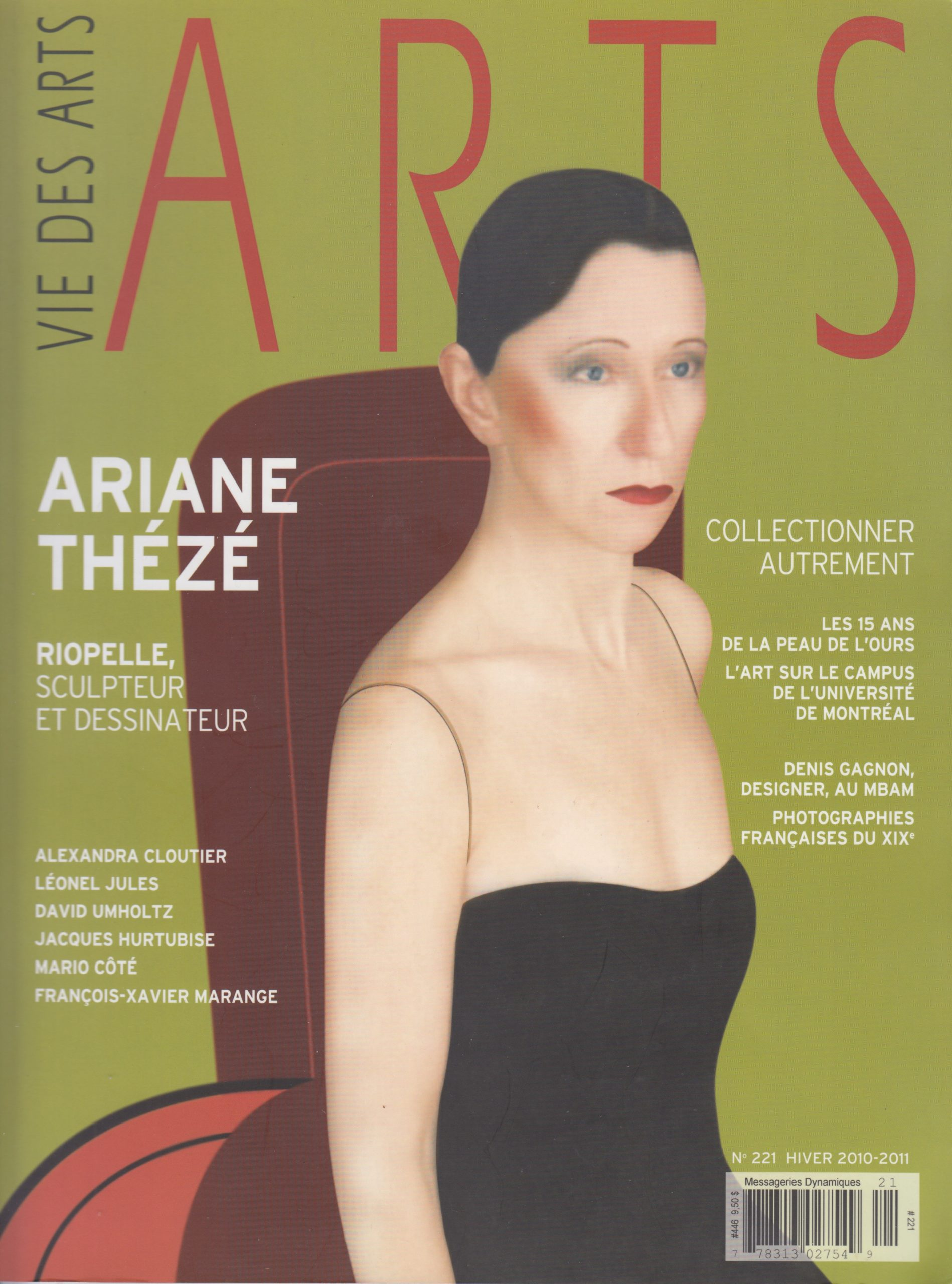 Quand une musique devient peinture, Jean de Julio-Paquin, Vie des arts, no 221, 2010-2011