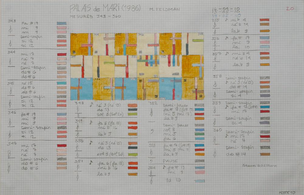 Œuvres sur papier [Palais de Mari], 2008 – 2010