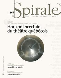 Restituer la danse, Guylaine Massoutre, Spirale, no 245, 2013