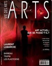 Des mots et des microchromies, Bernard Lévy, Vie des arts, no 230, 2013
